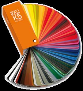 K5 RAL kleuren